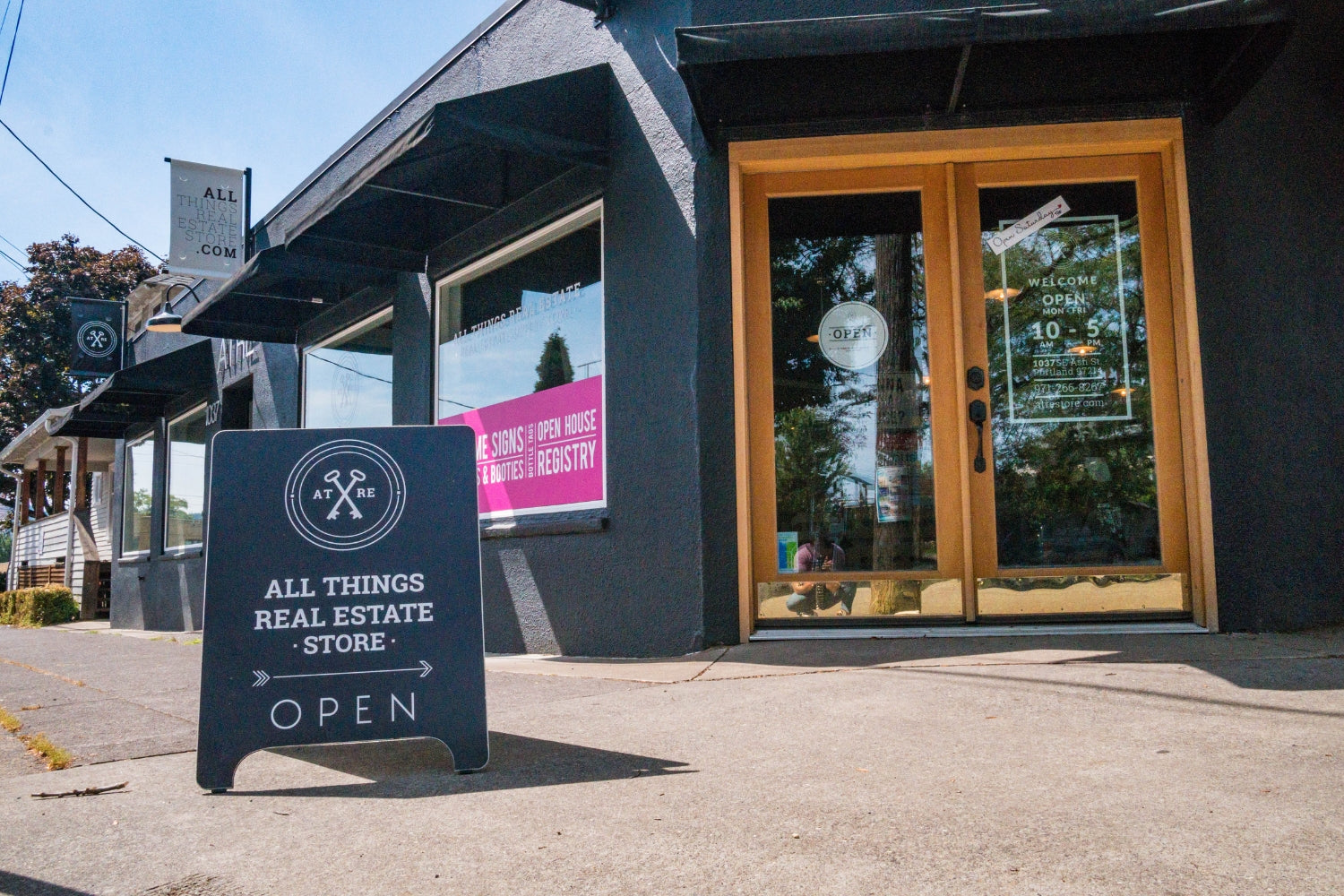 All Things Real Estate's new storefront