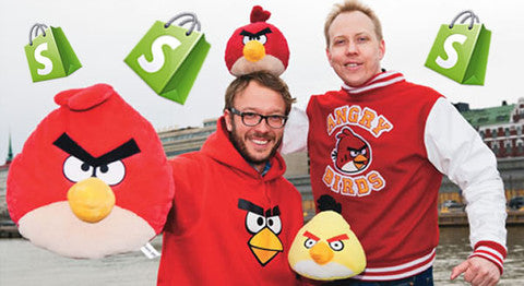 Angry birds and Shopify