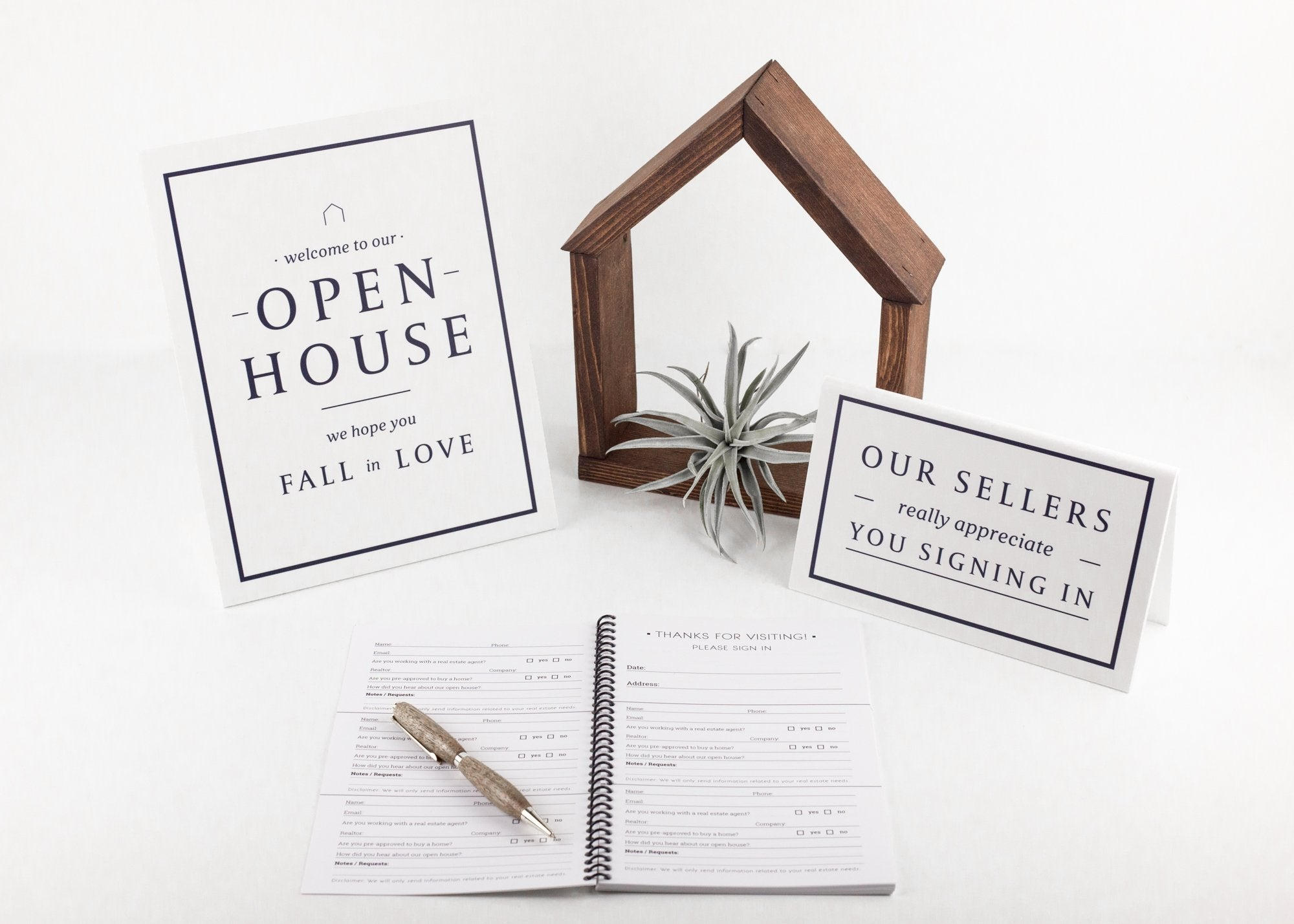 An open house bundle from All Things Real Estate
