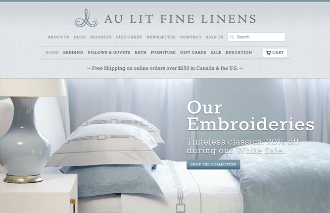 au lit fine linens - Furniture Design Online
