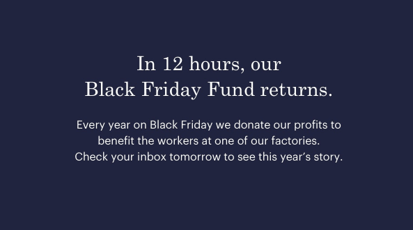 everlane giving tuesday offer