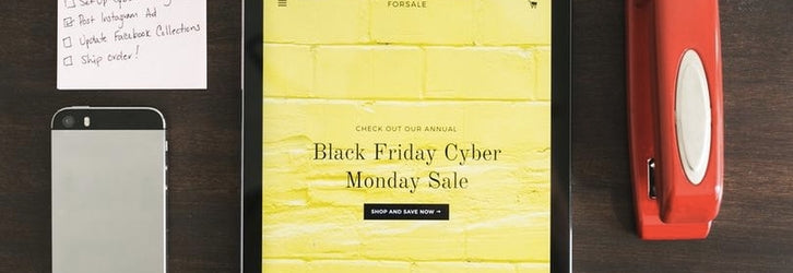planning your promotion for black friday cyber monday