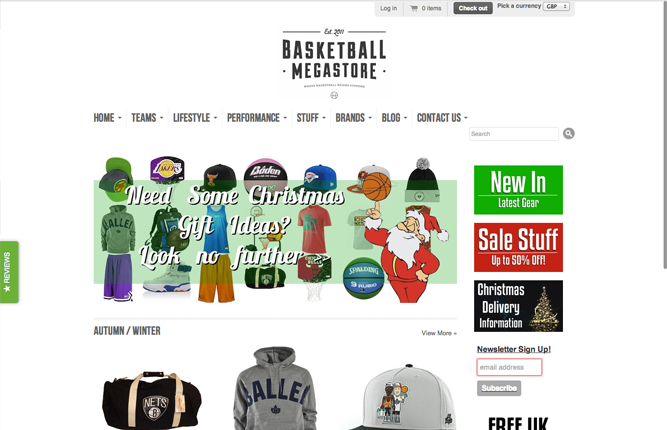 Basketball Megastore