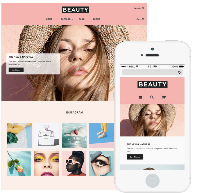 13 Stunning Responsive Ecommerce Website Templates For Your Shopify