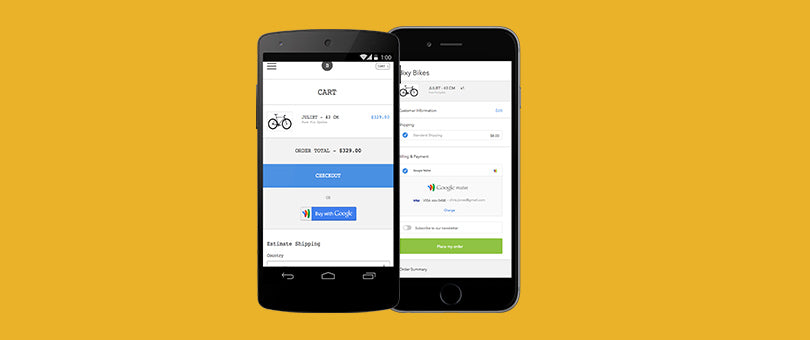 Shopify Makes Buying on Mobile Easier with Google Wallet