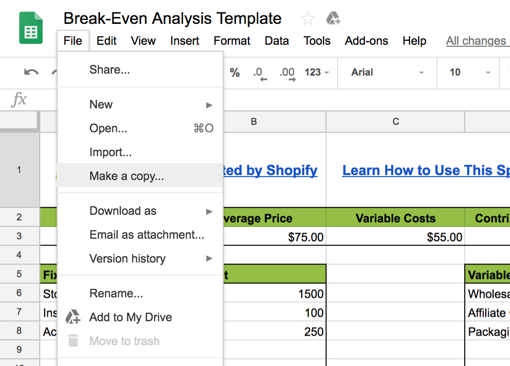 What is Break-Even Analysis and How to Do It (Template)