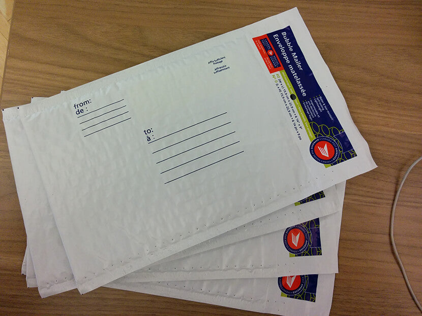 Canada Post envelopes