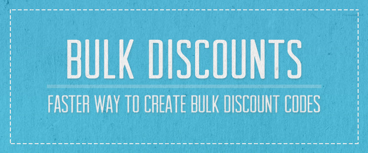 New Free Shopify App: Bulk Discounts