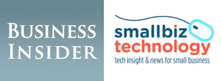 Business Insider and Smallbiz Technology logos