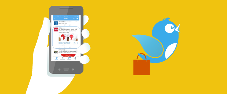 "Twitter Moves Into Mobile Commerce With New ""Buy"" Button"