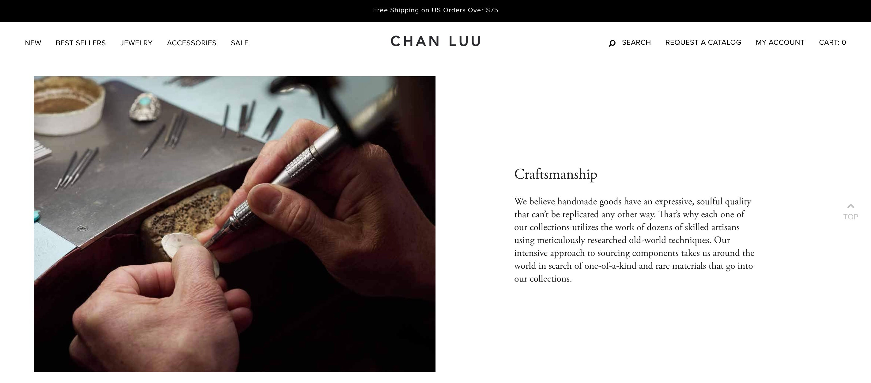 Chan Luu website About page