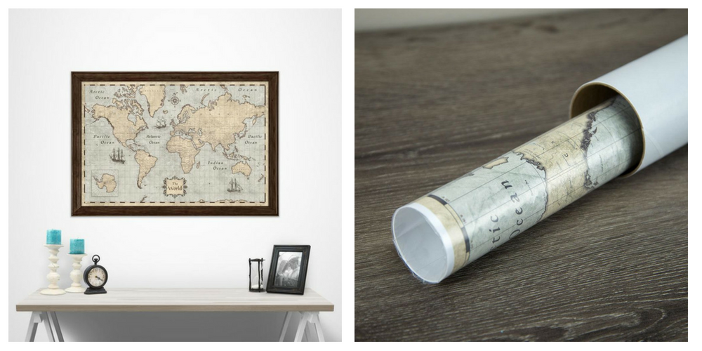 One of Conquest Maps' products they sell on Etsy and Shopify