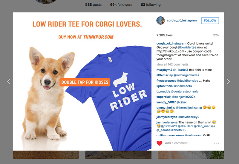 Finding Popular Dog Accounts in Horizontal Markets