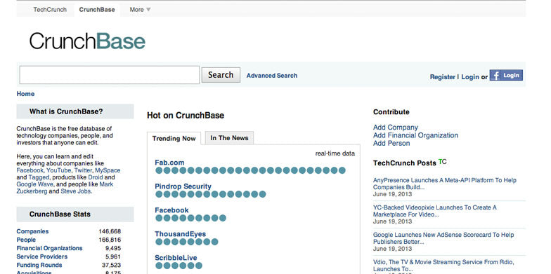 Add Yourself and Your Company to CrunchBase
