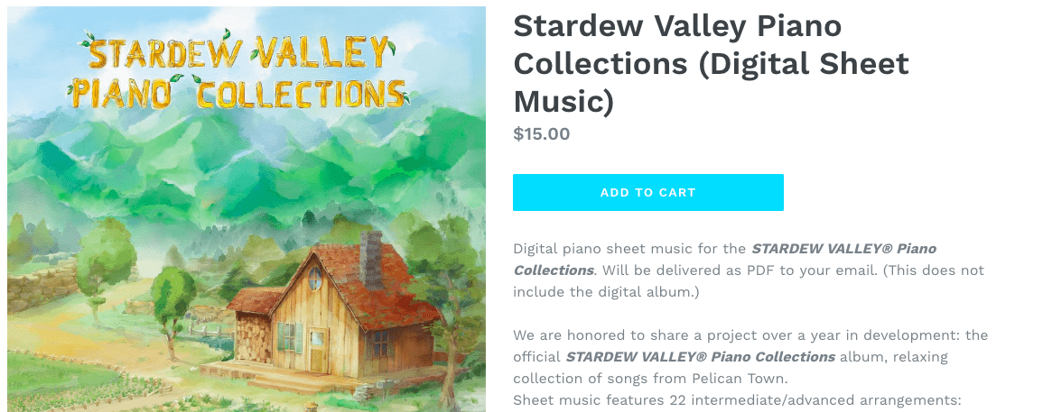 materia collective sells digital music sheets