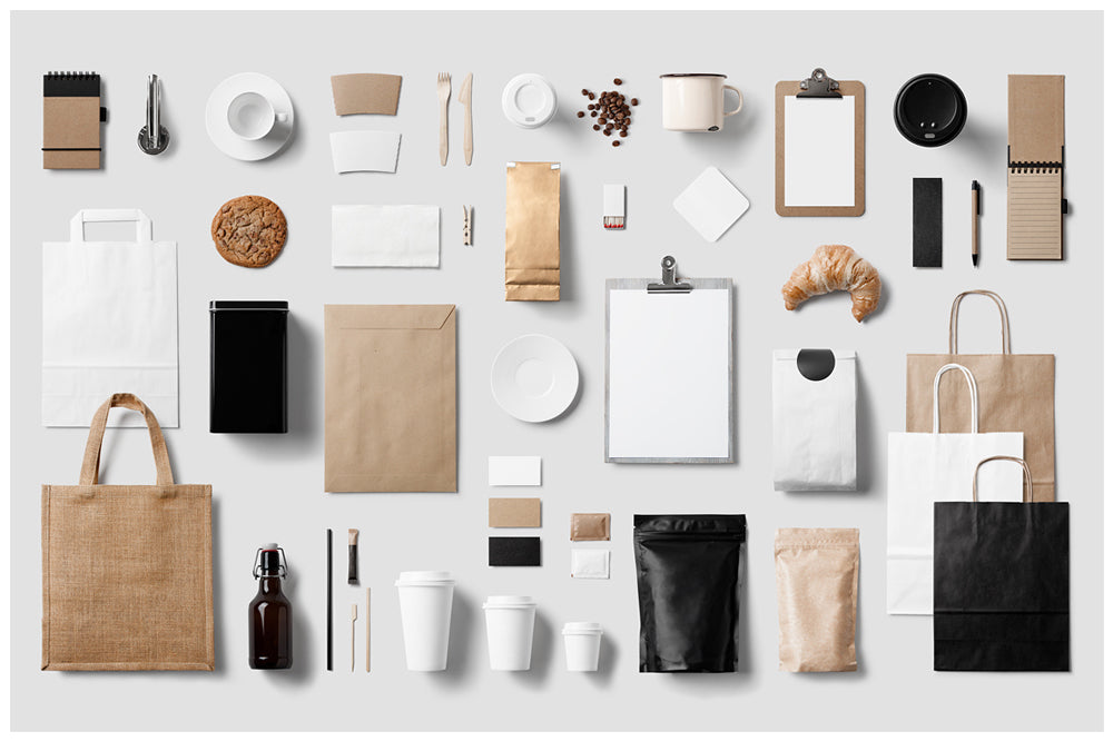 1.Use Knolling to Organize Product Photography
