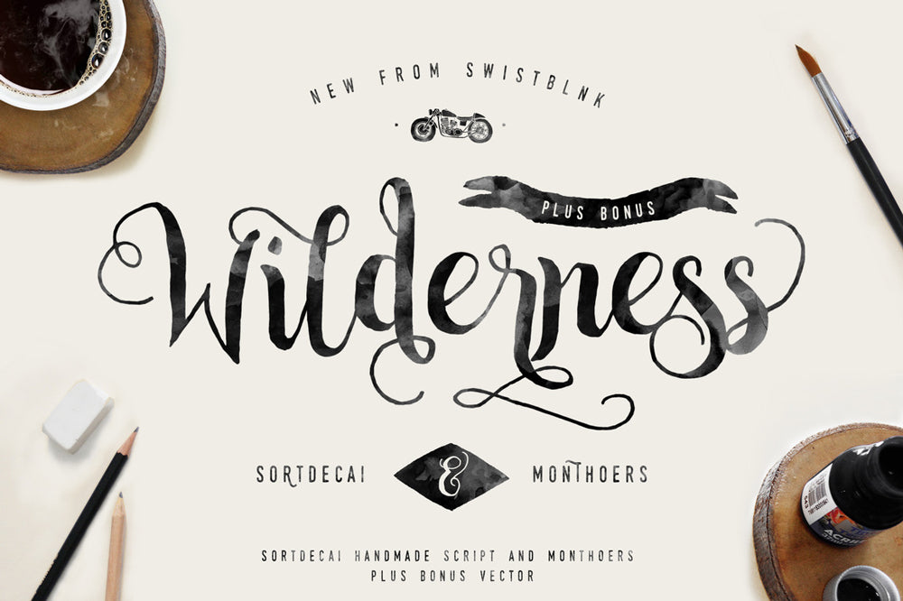 2.Use Brush Hand Lettering for Bold Headers