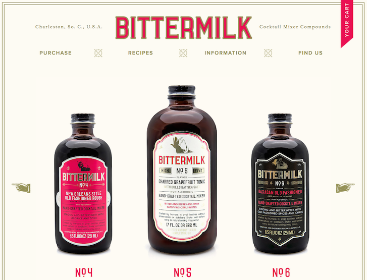 Bittermilk screenshot