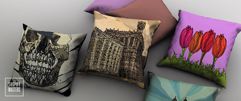From Artist to Entrepreneur: How Eric Rosner Put His Passion on Pillows