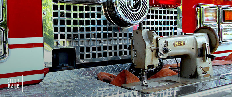 How One Firefighter Turned Recycled Gear into a 6-Figure Business Using Instagram