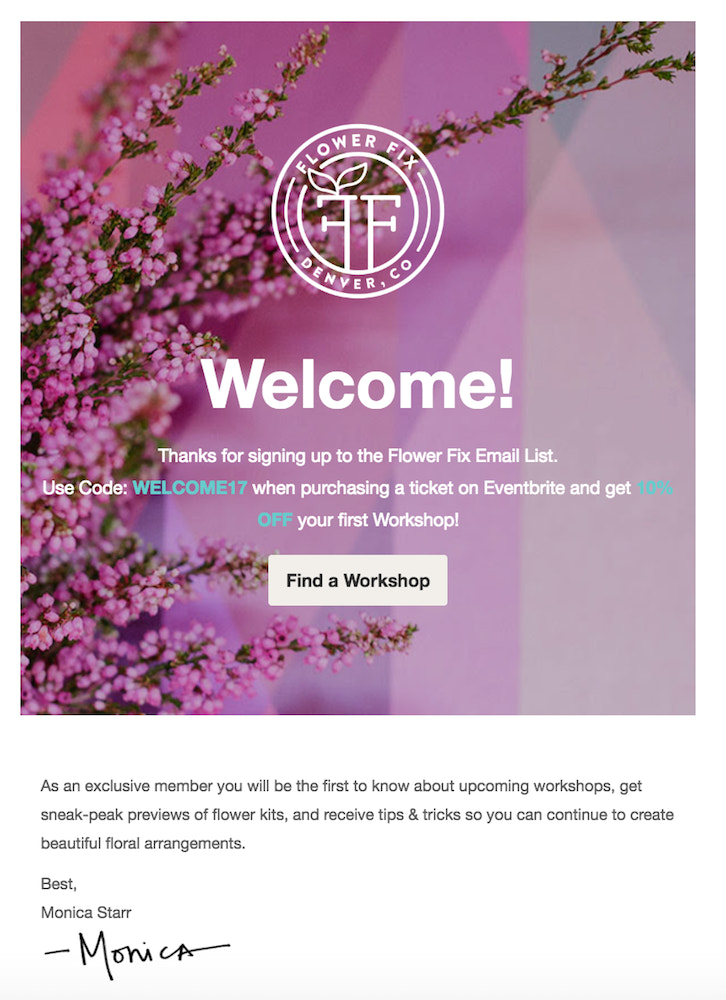 12 Unique Examples of Welcome Emails that Work
