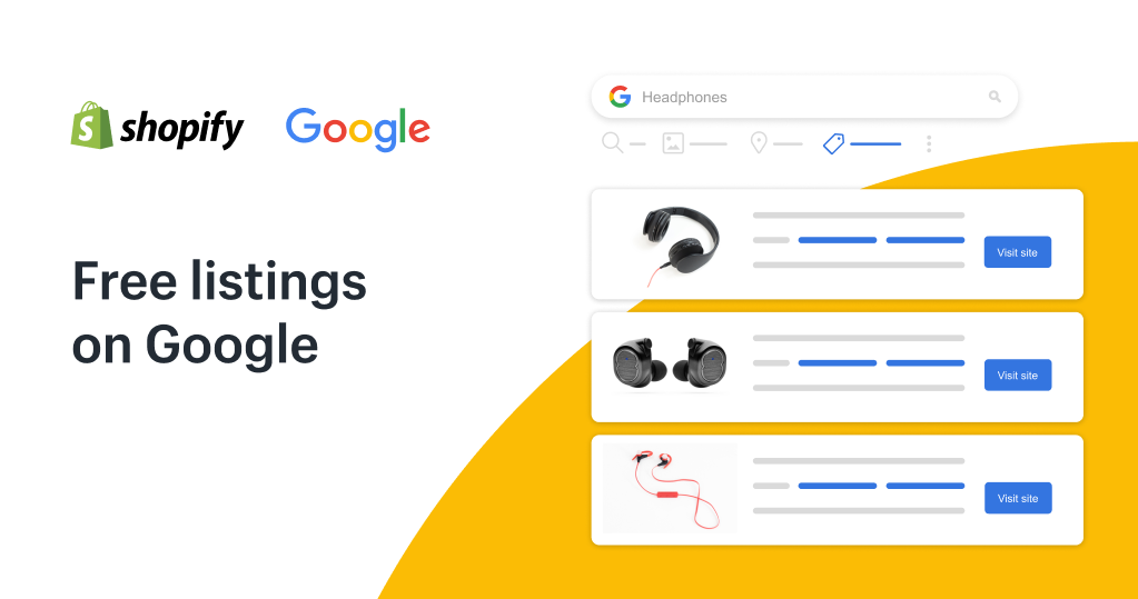 free listings on google shopping