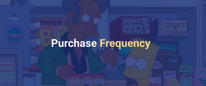 Purchase frequency