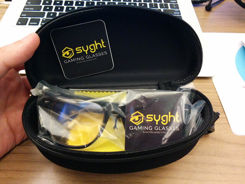 Syght Glasses package
