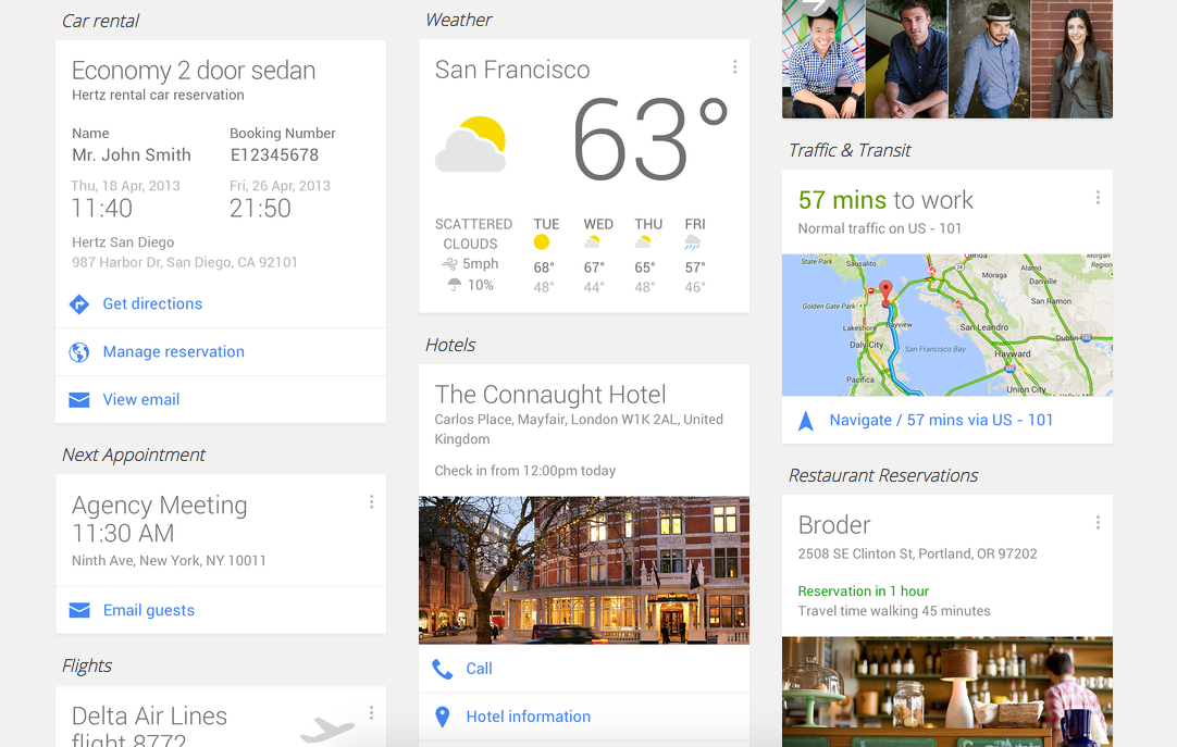 google now time management app
