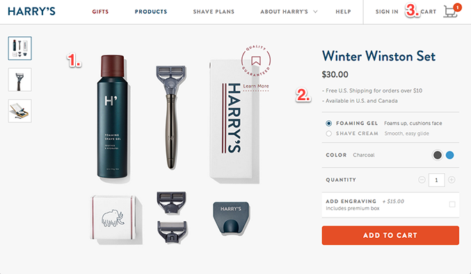 Effective Product Pages That Turn Visitors Into Customers - Shopify landing page template