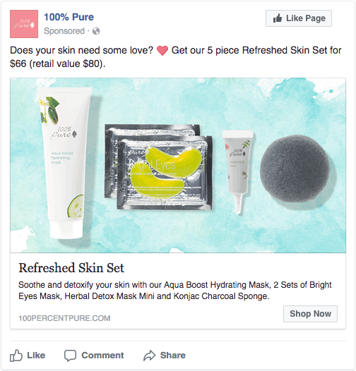 day 3 facebook ad