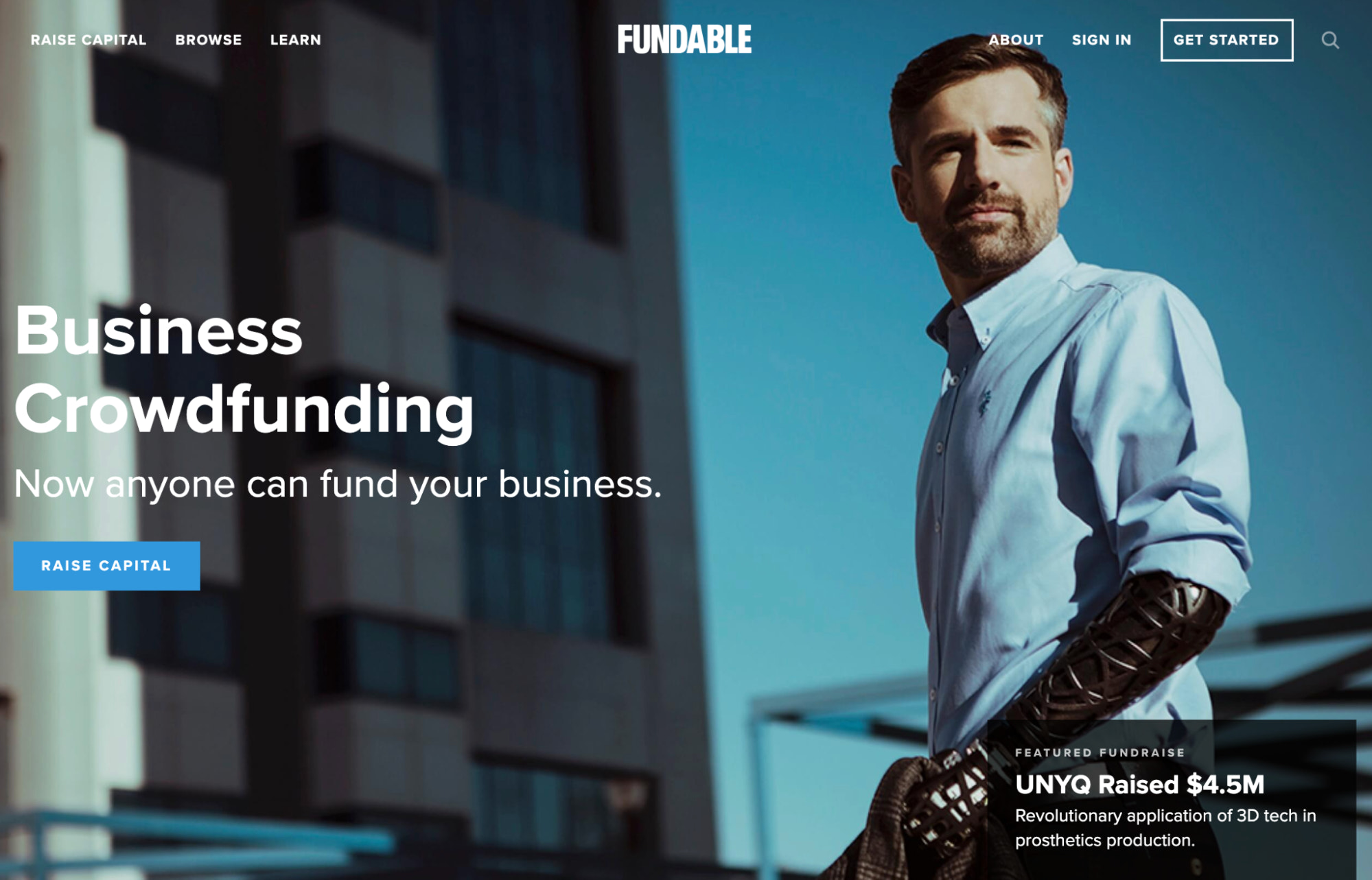 fundable crowdfunding site
