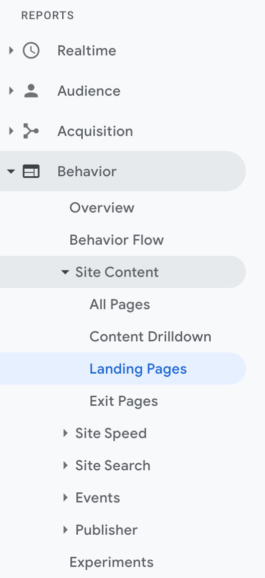 setting up a/b testing in google analytics 1