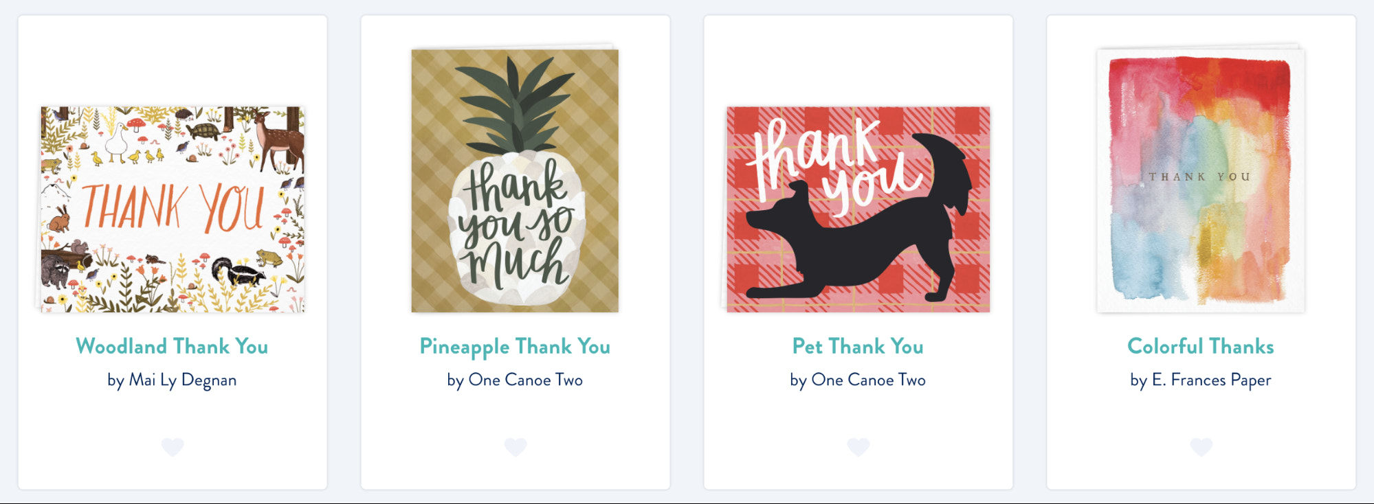 postcard examples for customers