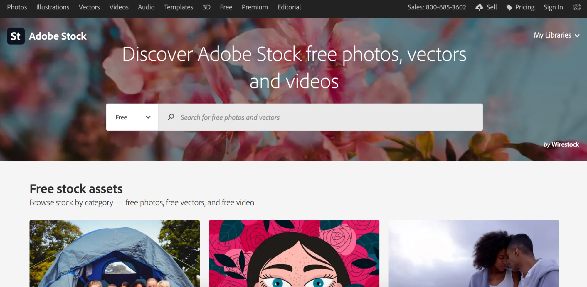 adobe stock free stock photography site