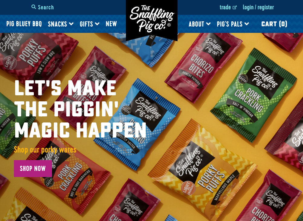 snaffling-pig-website-cover-photo-featuring-product-collections