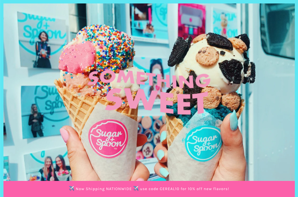 two-ice-cream-cones-from-sugar-and-spoon