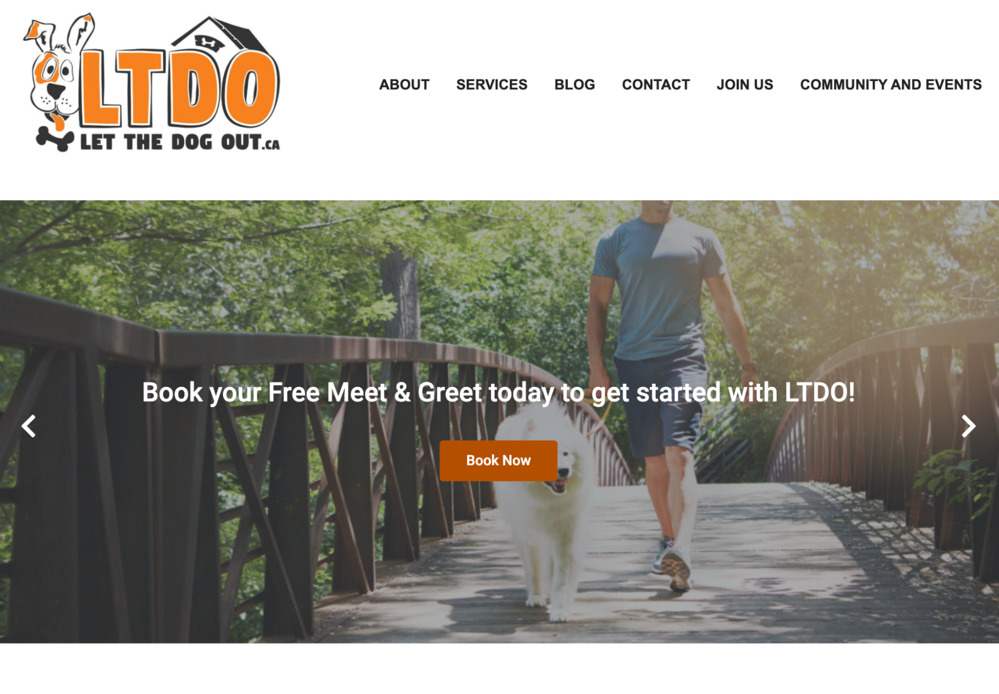 let the dog out website