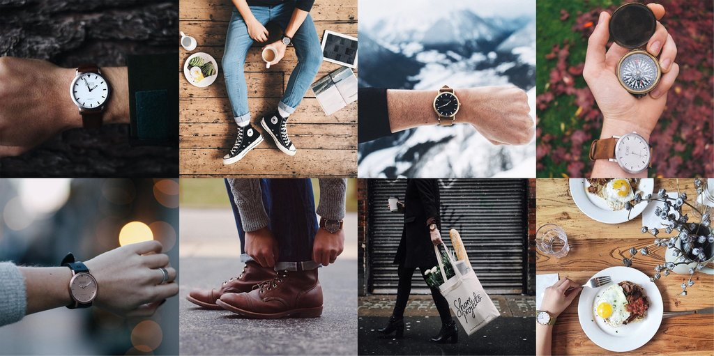 moodboard for influencer marketing outreach