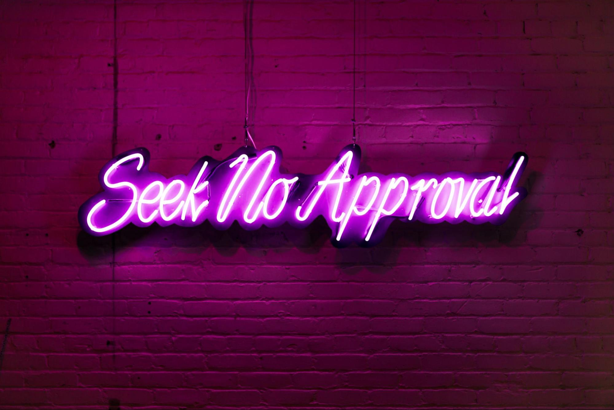 neon sign image