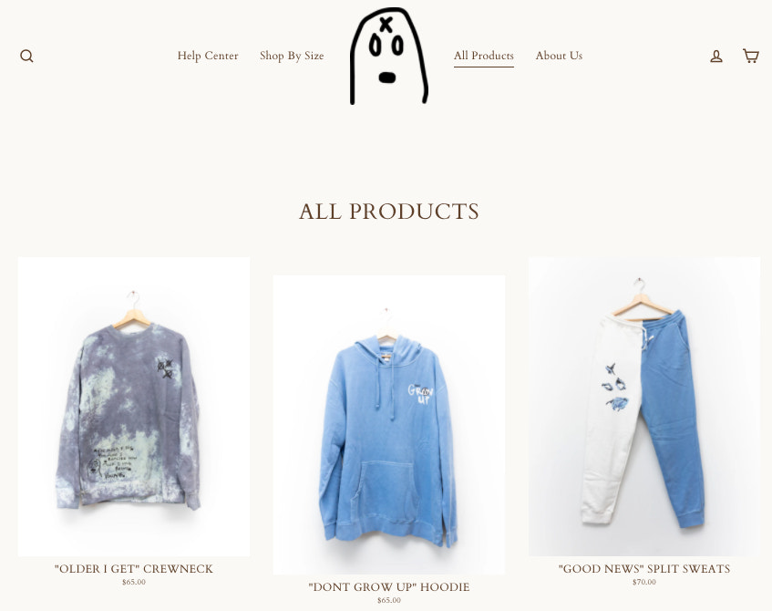 unexpected-store-collection-page
