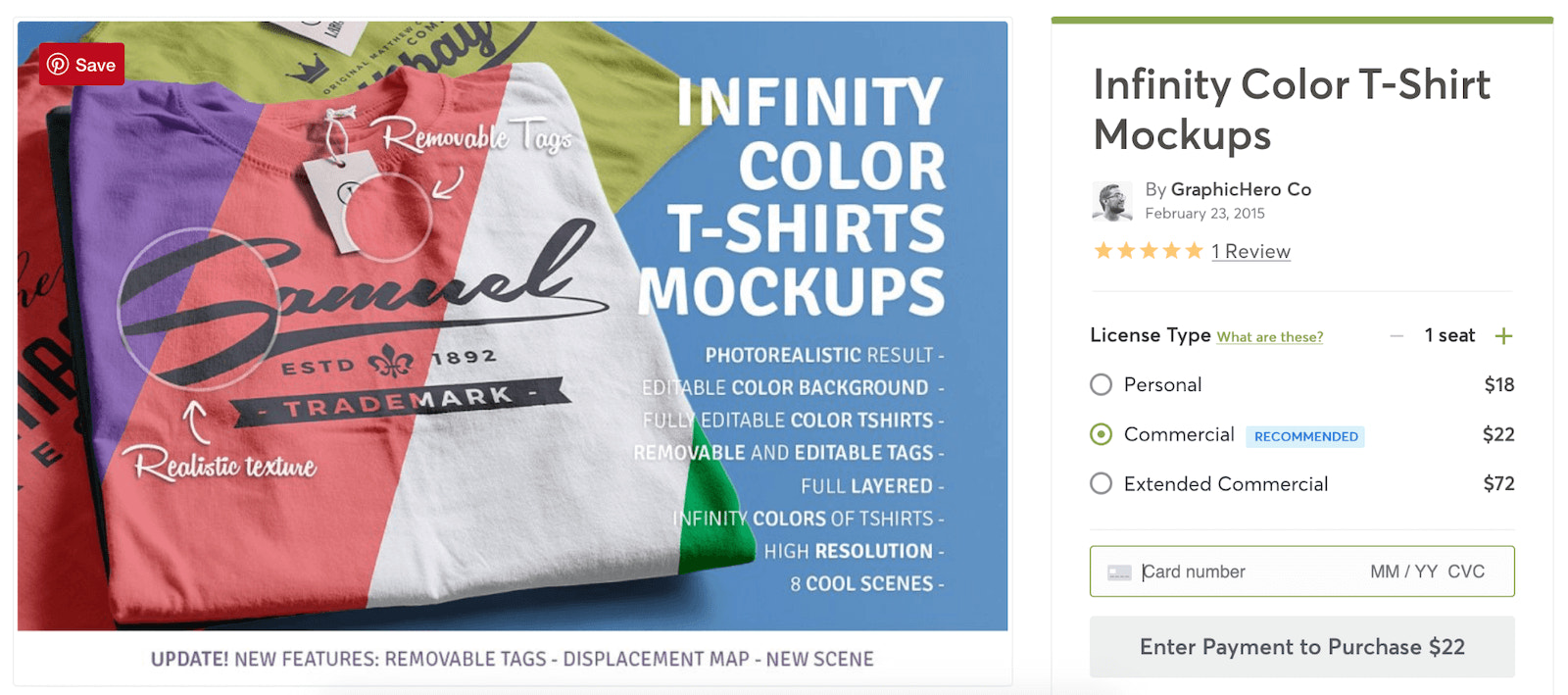infinity color