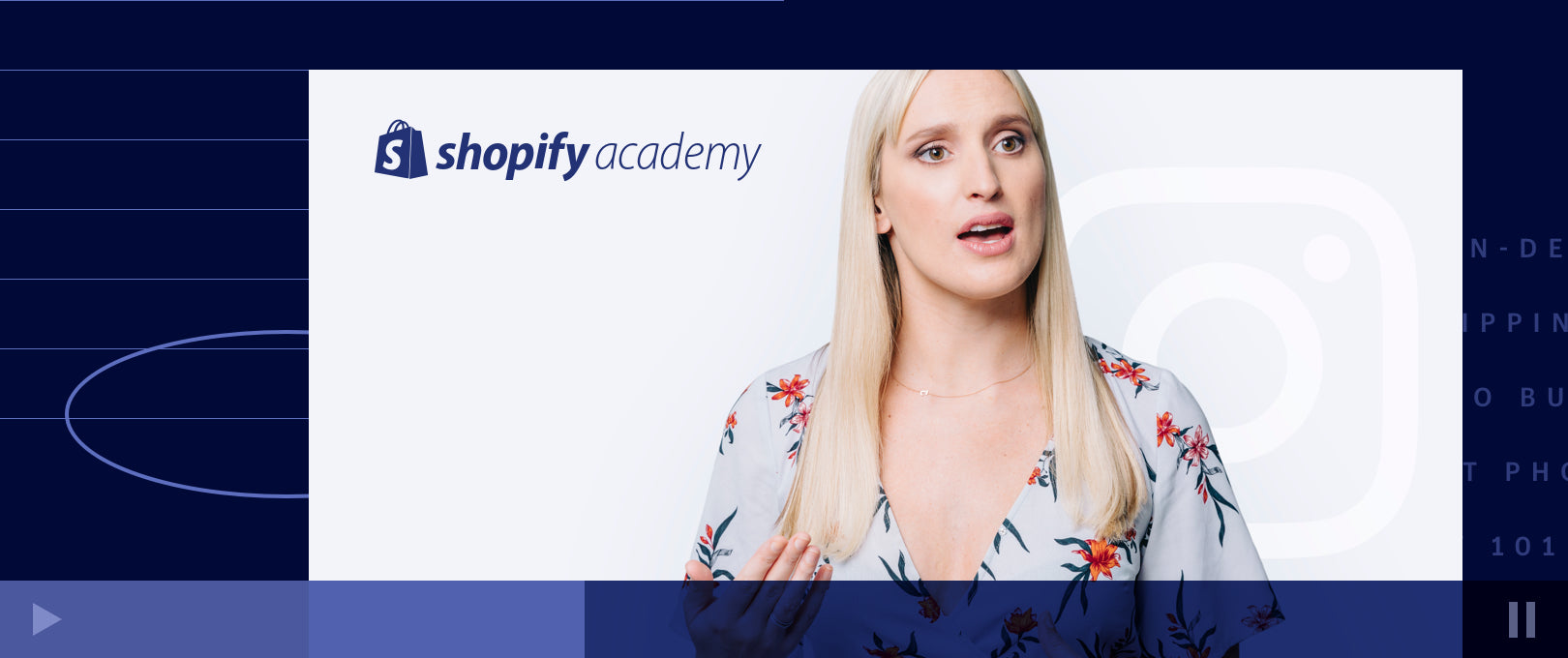 Grow Your Business with Instagram: A New Course from Shopify Academy