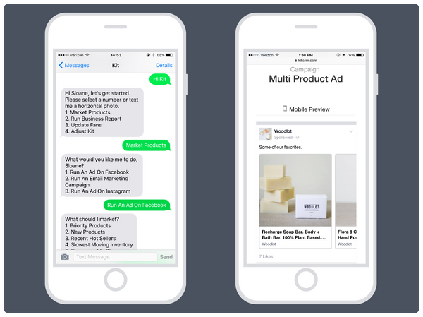 Kit conversational commerce