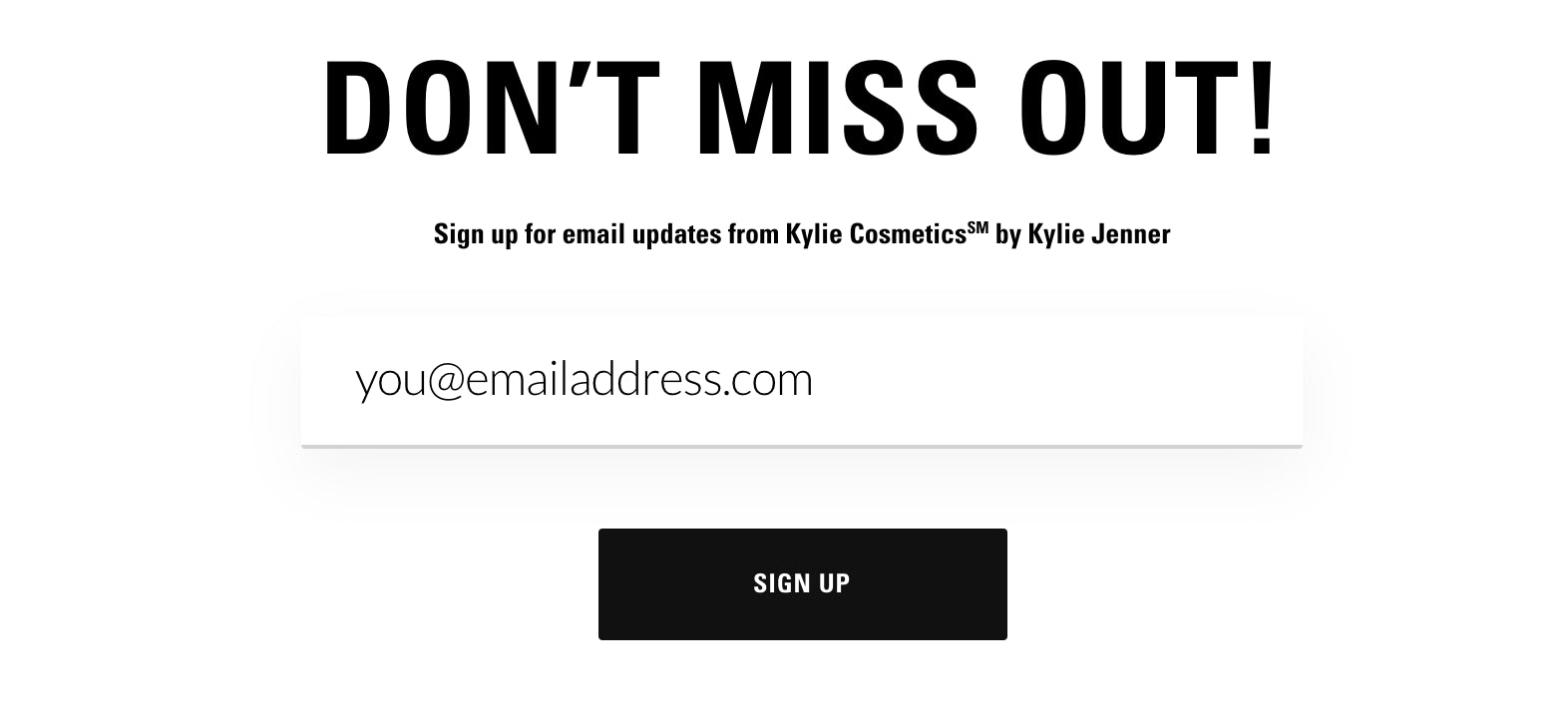 Kylie Cosmetics loss aversion