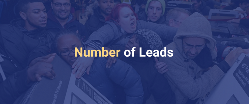 Number of leads