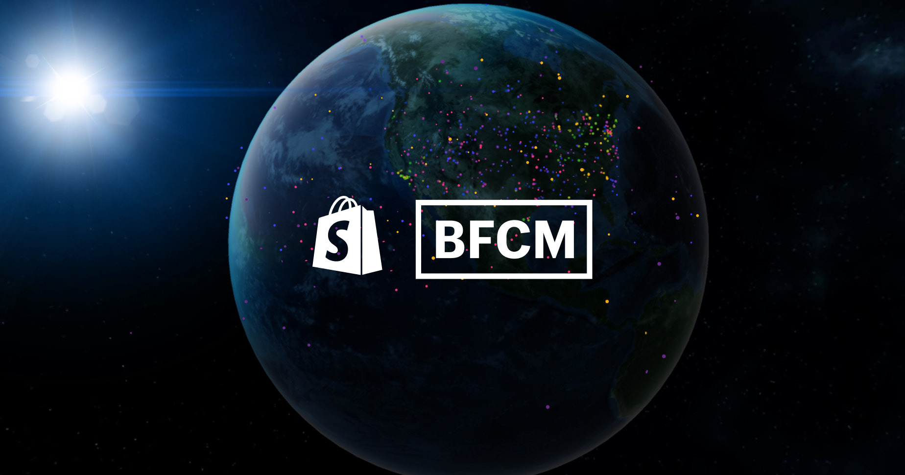 Watch Global BFCM Sales in Real-Time with Shopify's Live Map