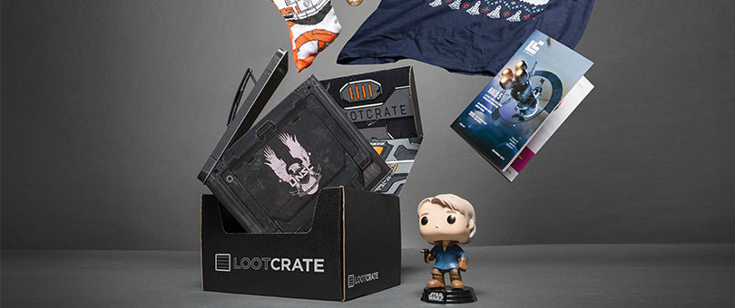 loot crate and geek culture