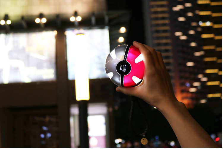 lure party pokeball phone battery pokemon go