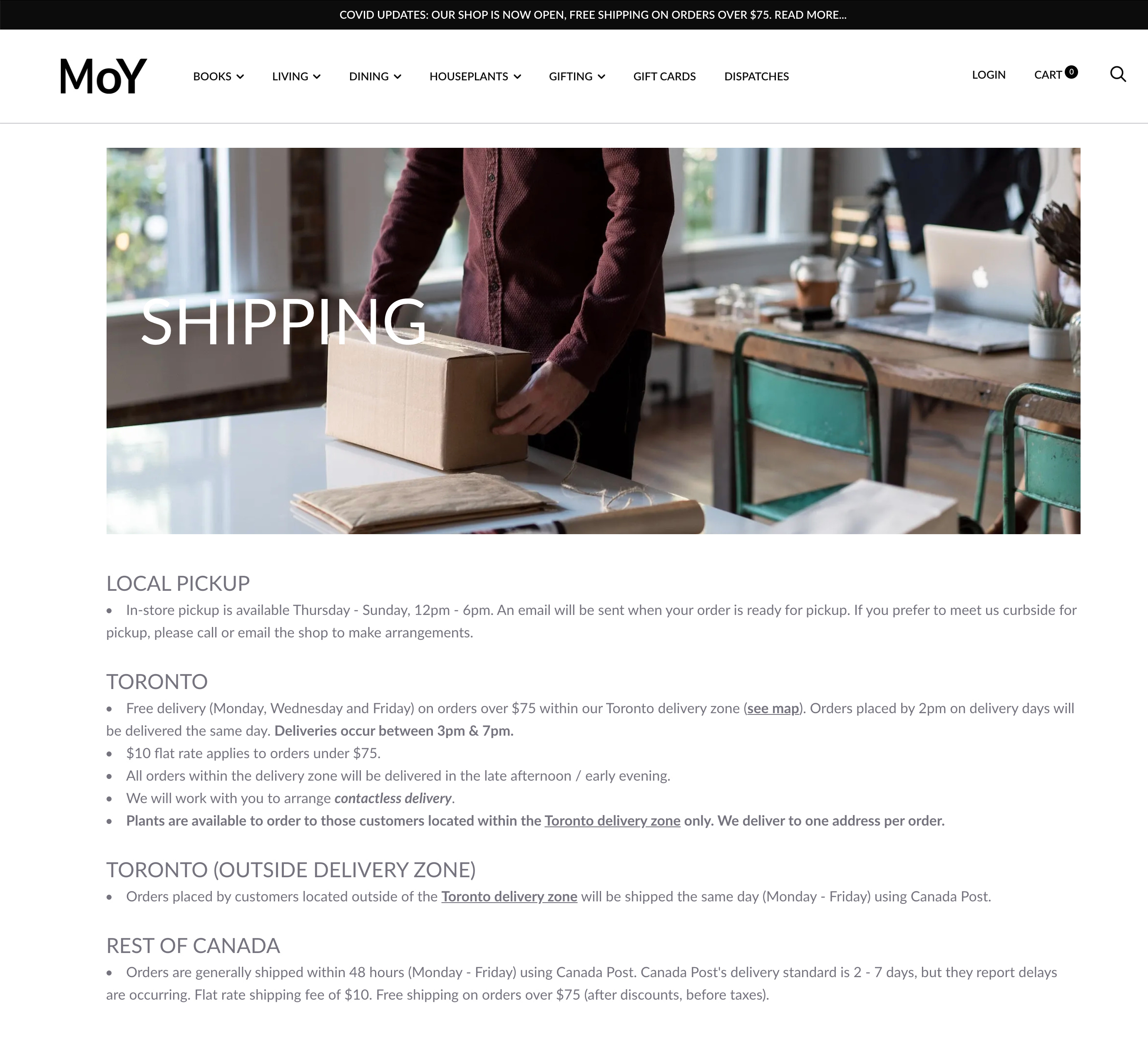 How To Create A Shipping Policy Free Template Examples